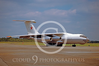 Ilyushin Il-76 Candid 00003 Soviet Force England July 1993 by Peter J Mancus