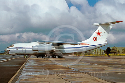 Il-76 00009 Ilyushin Il-76MD Candid Soviet Air Force 01 May 1991 via African Aviation Slide Service