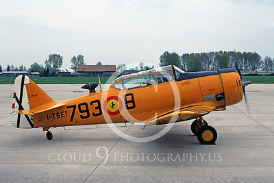 T-6Forg 00001 North American T-6 Texan Spanish Air Force June 1986 via AASS