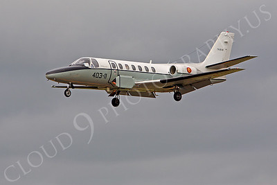 Cessena Citation X 00006 Cessena Citation X Spanish Air Force TR20-01 by Peter J Mancus