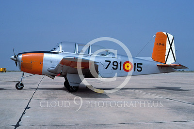 T-34Forg 00003 Beech T-34 Spanish Air Force May 1987 by Michel Fournier via AASS