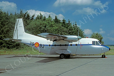CASA C-212 Aviocar 00001 CASA C-212 Aviocar Spanish Air Force 7993 September 1996 via African Aviation Slide Service
