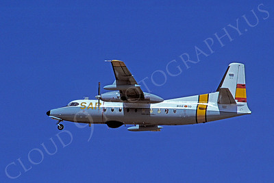 Fokker F27 Friendship 00008 Fokker F27 Friendship Spanish Air Force 22 July 1996 by S W D Wolf