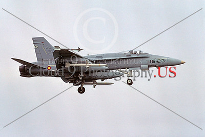 F-18Forg 00090 McDonnell Douglas F-18A Hornet Spanish Air Force by Peter J Mancus