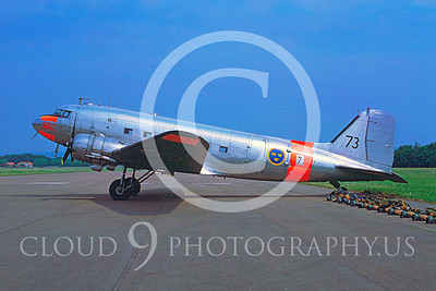 C-47Forg 00005 Douglas C-47 Skytrain Swedish Air Force 73 June 1978 by Lars Soldeus