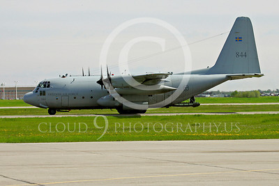 C-130Forg 00041 Lockheed C-130 Hercules Swedish Air Force by Paul Ridgway