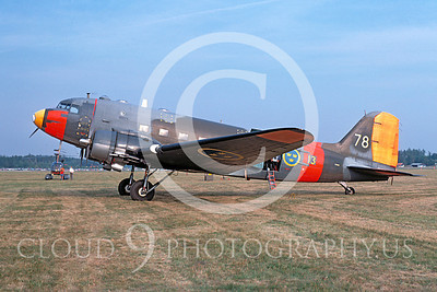 C-47Forg 00039 Douglas C-47 Skytrain Swedish Air Force 29 August 1976 by Lars Soldeus