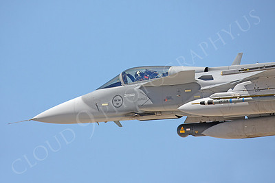 CUNMJ 00084 SAAB JAS 39 Grippen Swedish Air Force by Peter J Mancus