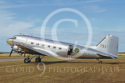 C-47Forg 00029 Douglas C-47 Swedish Air Force 27 August 1983 by W Stobse
