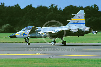 SAAB Gripen 00007 SAAB Gripen Swedish Air Force 10 September 1992 by Stephen W D Wolf
