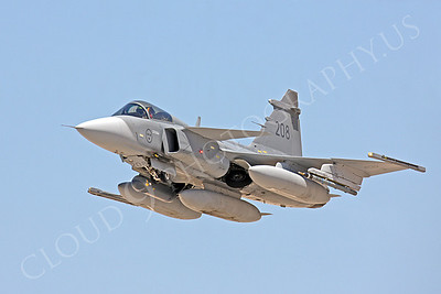 SAAB JAS 39 Gripen 00010 Swedish Air Force 208 by Peter J Mancus