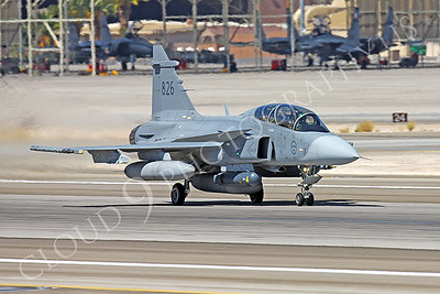 SAAB JAS 39 Gripen 00005 Swedish Air Force 826 Nellis AFB by Peter J Mancus