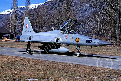 F-5Forg 00047 Northrop F-5E Freedom Fighter Swiss Air Force J-3092 March 2003 by MarinusTabak