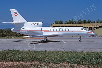 Dassault Falcon 50 00003 Dassault Falcon 50 Swiss Air Force T-783 by Christoph Kugler via African Aviation Slide Service