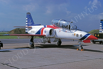 AIDC AT-3 Tzu-Chiang 00001 Twainese Air Force September 1996 via African Aviation Slide Service