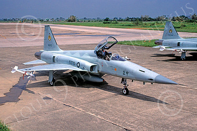 F-5Forg 00061 Northrop F-5E Freedom Fighter Taiwanese Air Force 80872 August 1996 via African Aviation Slide Service