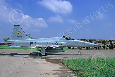 F-5Forg 00062 Northrop F-5E Freedom Fighter Taiwanese Air Force 80872 August 1996 via African Aviation Slide Service