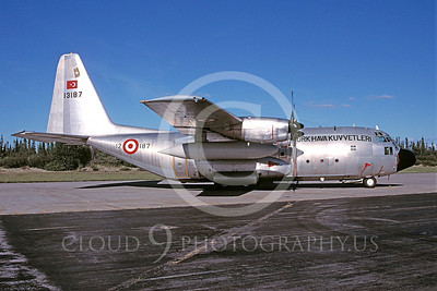 C-130Forg 00019 Lockheed C-130 Hercules Turkish Air Force 13187 August 1997 via African Aviation Slide Service