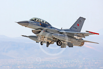 F-16FORG 00050 Lockheed Martin F-16 Turkish Air Force 91-0024 by Peter J Mancus