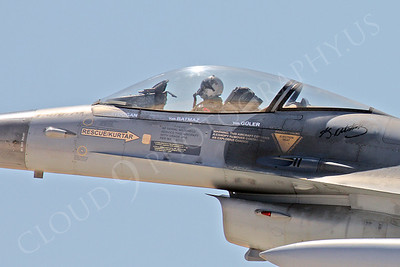 ACM 00231 Turkish Air Force Lockheed Martin F-16 Fighting Falcon fighter pilot by Peter J Mancus