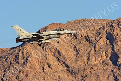 F-16E 00006 Lockheed Martin F-16E Desert Falcon United Arab Emirates Air Force UAEF 3031 Nellis AFB by Peter J Mancus