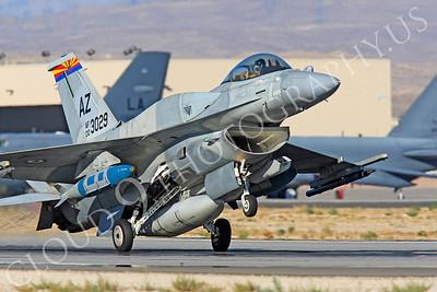 F-16E 00019 Lockheed Martin F-16E Desert Falcon United Arab Emirates Air Force UAEAF 003029 Nellis AFB by Peter J Mancus
