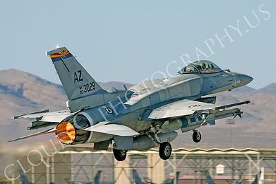 F-16E 00016 Lockheed Martin F-16E Desert Falcon United Arab Emirates Air Force UAEAF 003029 Nellis AFB by Carl E Porter