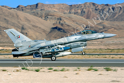 F-16E 00007 Lockheed Martin F-16E Desert Falcon United Arab Emirates Air Force UAEAF 3034 Nellis AFB by Peter J Mancus