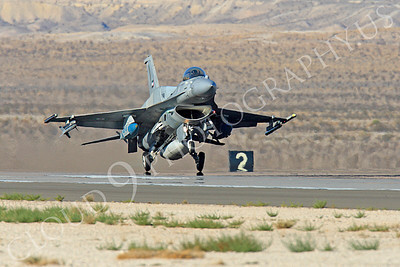 F-16E 00001 Lockheed Martin F-16E Desert Falcon United Arab Emirates Air Force UAEAF Nellis AFB by Peter J Mancus