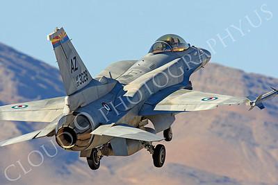 F-16E 00002 Lockheed Martin F-16E Desert Falcon United Arab Emirates Air Force UAEF 003028 Nellis AFB by Peter J Mancus