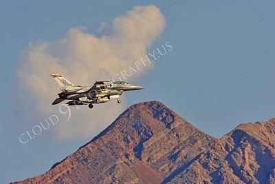 F-16E 00028 Lockheed Martin F-16E Desert Falcon United Arab Emirates Air Force UAEF 3029 Nellis AFB by Peter J Mancus
