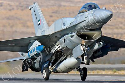 F-16E 00013 Lockheed Martin F-16E Desert Falcon United Arab Emirates Air Force UAEAF 3034 Nellis AFB by Peter J Mancus