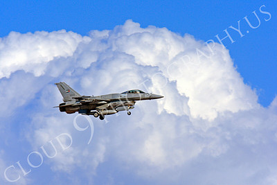 F-16E 00018 Lockheed Martin F-16E Desert Falcon United Arab Emirates Air Force UAEF 3033 Nellis AFB by Peter J Mancus