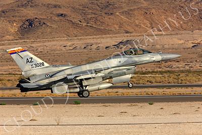 F-16E 00017 Lockheed Martin F-16E Desert Falcon United Arab Emirates Air Force UAEAF 003028 Nellis AFB by Peter J Mancus