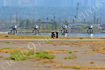 F-16E 00011 Lockheed Martin F-16E Desert Falcon United Arab Emirates Air Force UAEAF Nellis AFB by Peter J Mancus