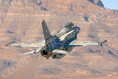 F-16E 00004 Lockheed Martin F-16E Desert Falcon United Arab Emirates Air Force UAEF 3032 Nellis AFB by Peter J Mancus