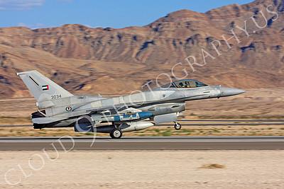 F-16E 00009 Lockheed Martin F-16E Desert Falcon United Arab Emirates Air Force UAEAF 3034 Nellis AFB by Carl E Porter