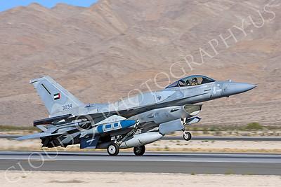 F-16E 00005 Lockheed Martin F-16E Desert Falcon United Arab Emirates Air Force UAEAF 3034 Nellis AFB by Peter J Mancus