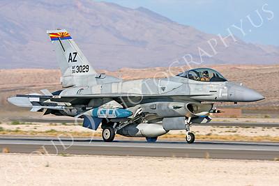 F-16E 00030 Lockheed Martin F-16E Desert Falcon United Arab Emirates Air Force UAEAF 003029 Nellis AFB by Carl E Porter