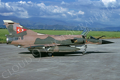 Dassault Mirage 50FV 00001 III Dassault Mirage 50FV Venezuelan Air Force 0155 November 1998 via African Aviation Slide Service