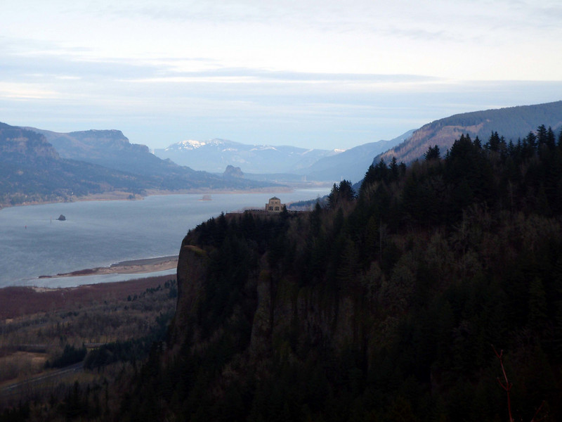 Picture of the Columbia Gorge looking East (Oregon)