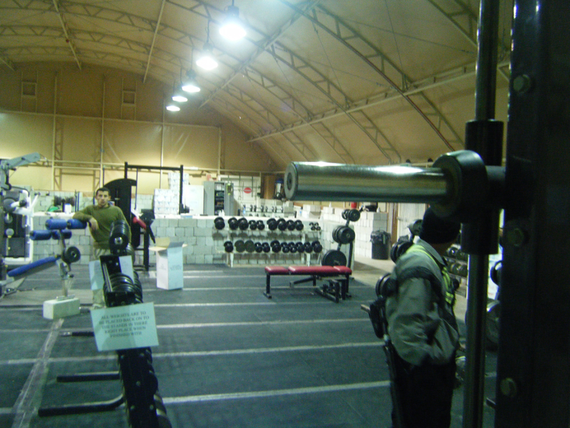 Another picture of the gym.