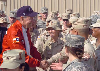 41st President (Gorge W. Bush, SR)