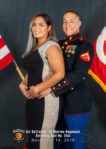 H08A5699-Lava Dogs-1st Battalion 3rd Marines-Birthday Ball No 244-November 2019-2