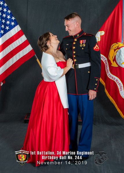 H08A5720-Lava Dogs-1st Battalion 3rd Marines-Birthday Ball No 244-November 2019