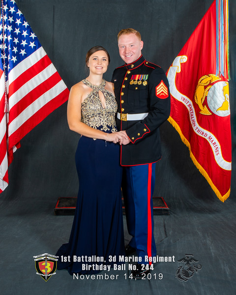 H08A5759-Lava Dogs-1st Battalion 3rd Marines-Birthday Ball No 244-November 2019-Edit-Edit