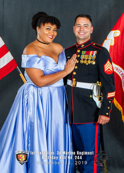 H08A5710-Lava Dogs-1st Battalion 3rd Marines-Birthday Ball No 244-November 2019-2