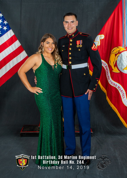 H08A5777-Lava Dogs-1st Battalion 3rd Marines-Birthday Ball No 244-November 2019