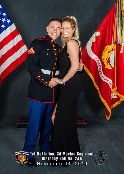 H08A6057-Lava Dogs-1st Battalion 3rd Marines-Birthday Ball No 244-November 2019-Edit