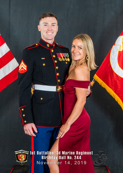 H08A5753-Lava Dogs-1st Battalion 3rd Marines-Birthday Ball No 244-November 2019